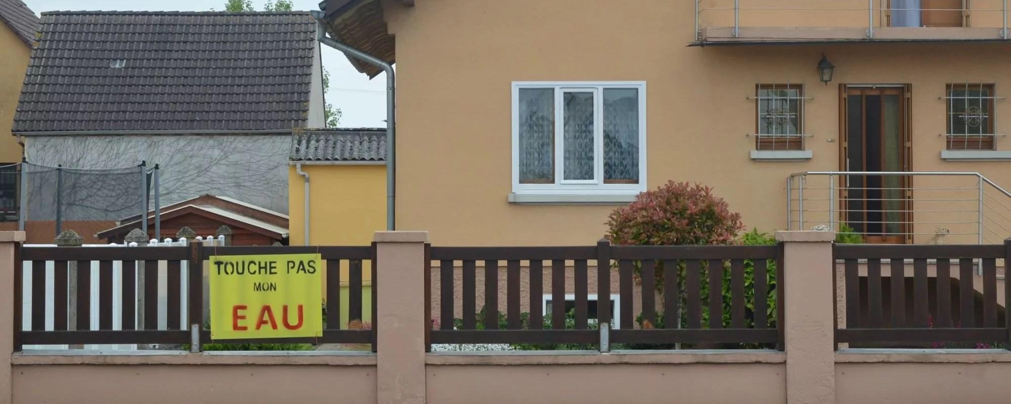 Près de Mulhouse, un projet de méthanisation menace l'eau potable de 4 200 personnes