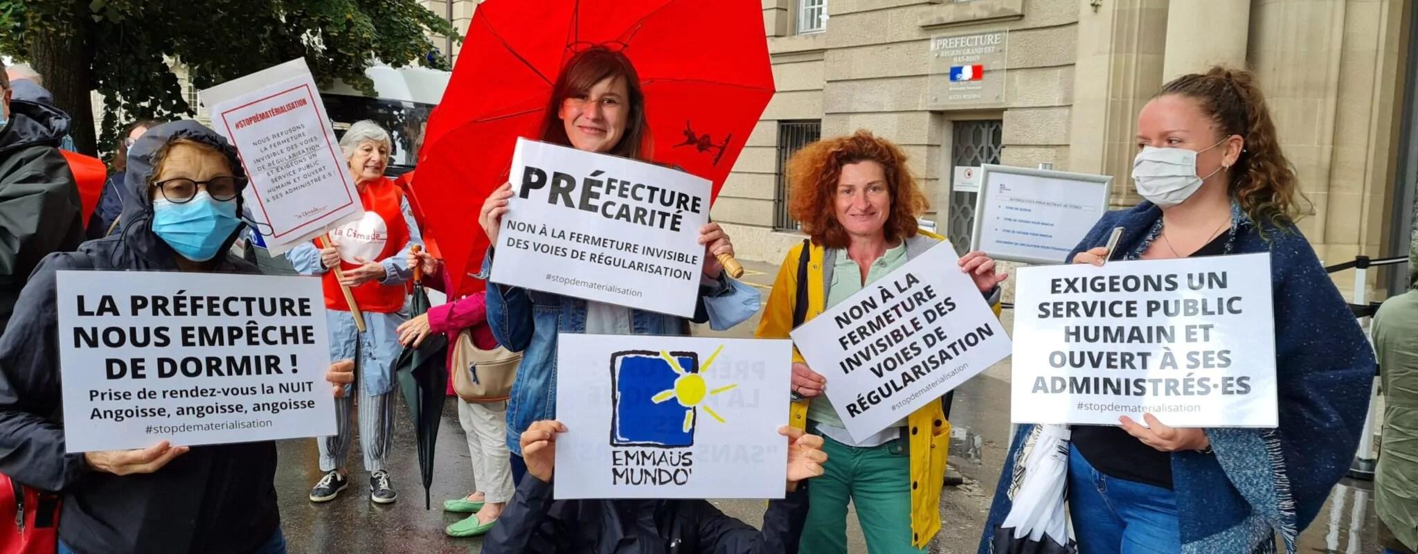 Trois associations assignent la préfecture du Bas-Rhin en justice au nom de l'accès au droit des étrangers
