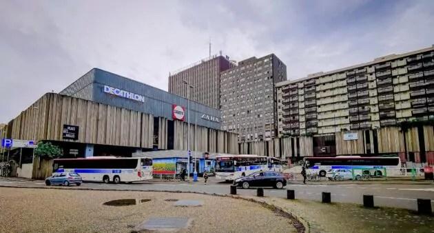 gare routiere des halles
