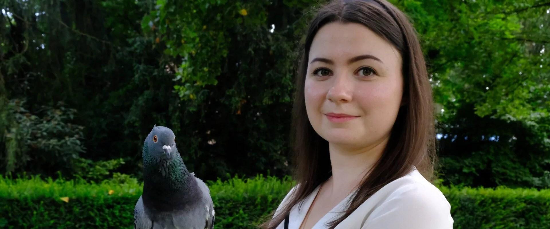 Susan, ange-gardien de pigeons délaissés à Strasbourg