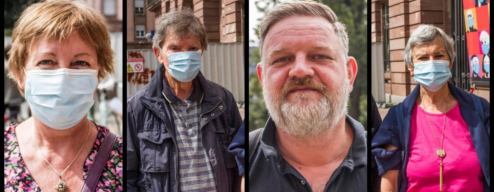 «Dos au mur, pas le choix», paroles de résignés dans les centres de vaccination