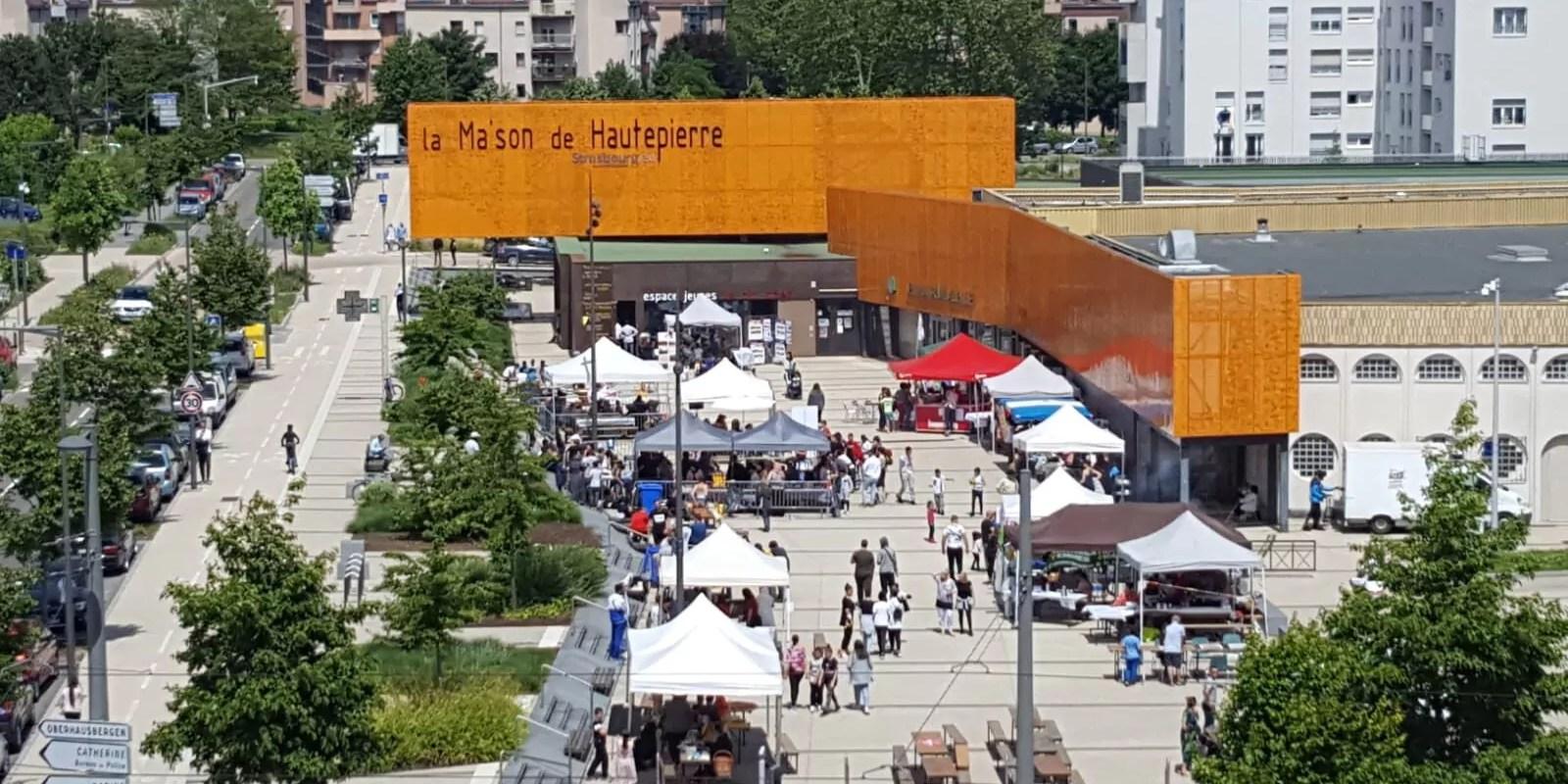 Visites de quartier, ateliers et spectacles : Hautepierre fête ses 50 ans