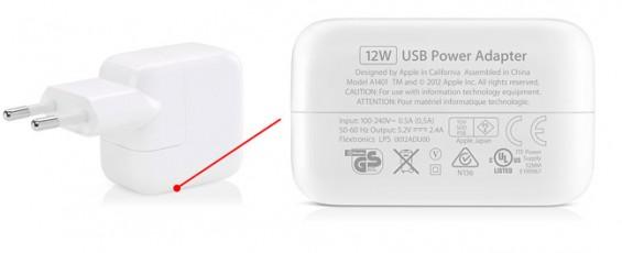Original iPad USB-Netzteil