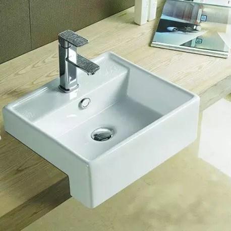 Vasque Semi Encastrable Pure Vasque Encastrer Cramique