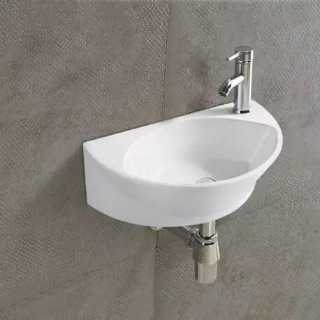 lave main ovale ceramique 40x29 cm elipse