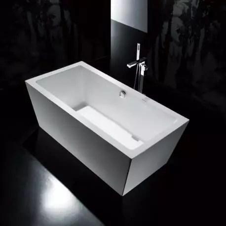 baignoire ilot rectangulaire acrylique copenhague rue du bain
