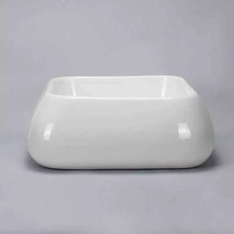 Vasque Cramique Blanche Cube Vente De Vasques Poser