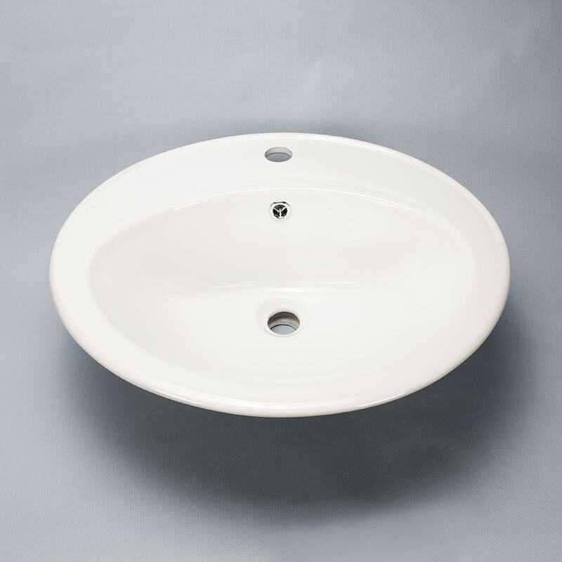 Vasque Ovale Encastrable Nea Vasque Encastrer Cramique