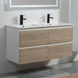 meuble salle de bain suspendu armoire