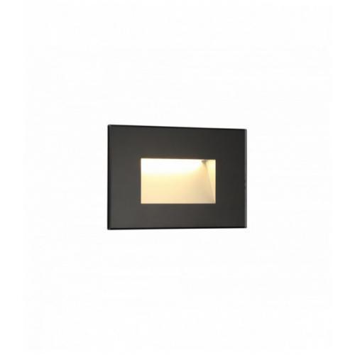 applique murale encastrable ip65 high 1 ampoule noir 40 5 cm