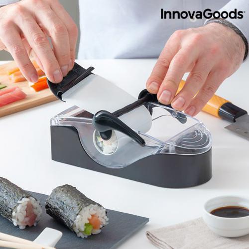 appareil manuel pour preparation de sushis avec livre de recettes