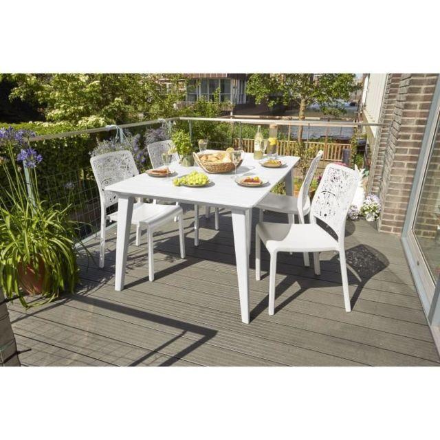 meubles d exterieur de jardin table de jardin vendue seule table lima 160 6
