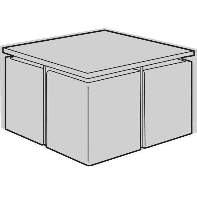 housse de protection salon de jardin carre cube