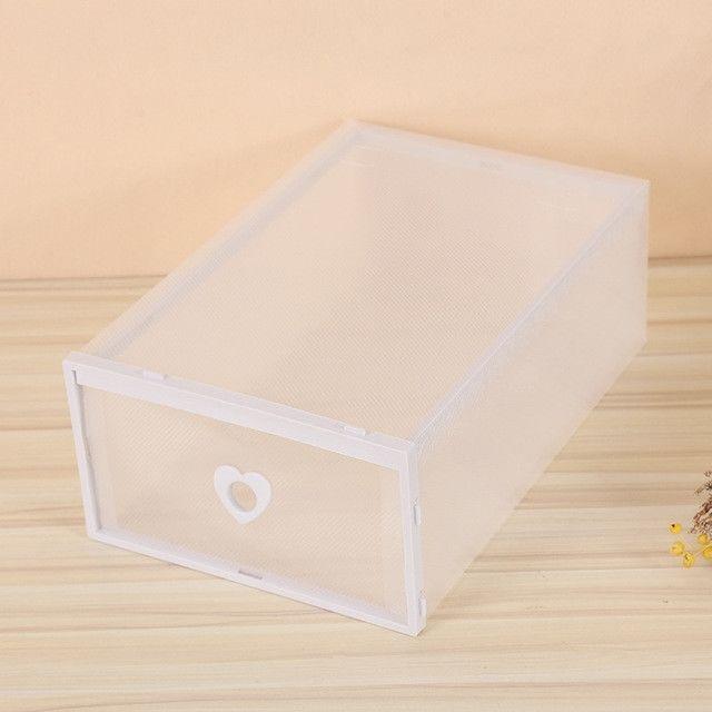 boite de rangement en plastique pour epaississement de tiroir a couvercle a