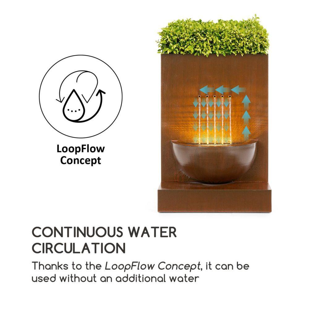 blumfeldt windflower fontaine de jardin