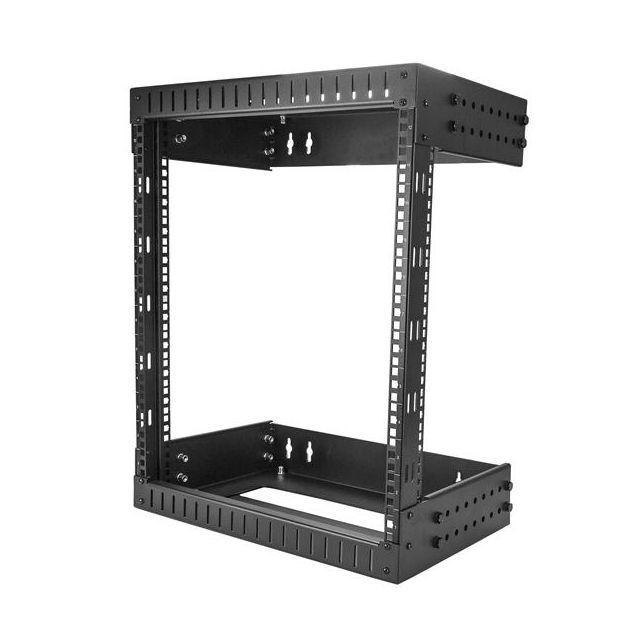 startech com rack serveur mural 12u armoire reseau a cadre ouvert