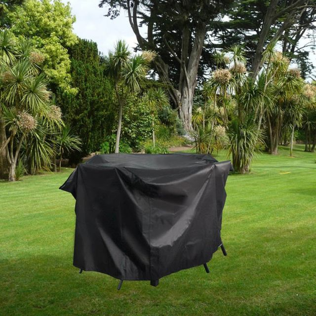 housse de protection salon de jardin 165x140x105 cm ravenne 6 8 10 12 pl