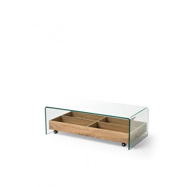 meubles tv verre roulettes rue du