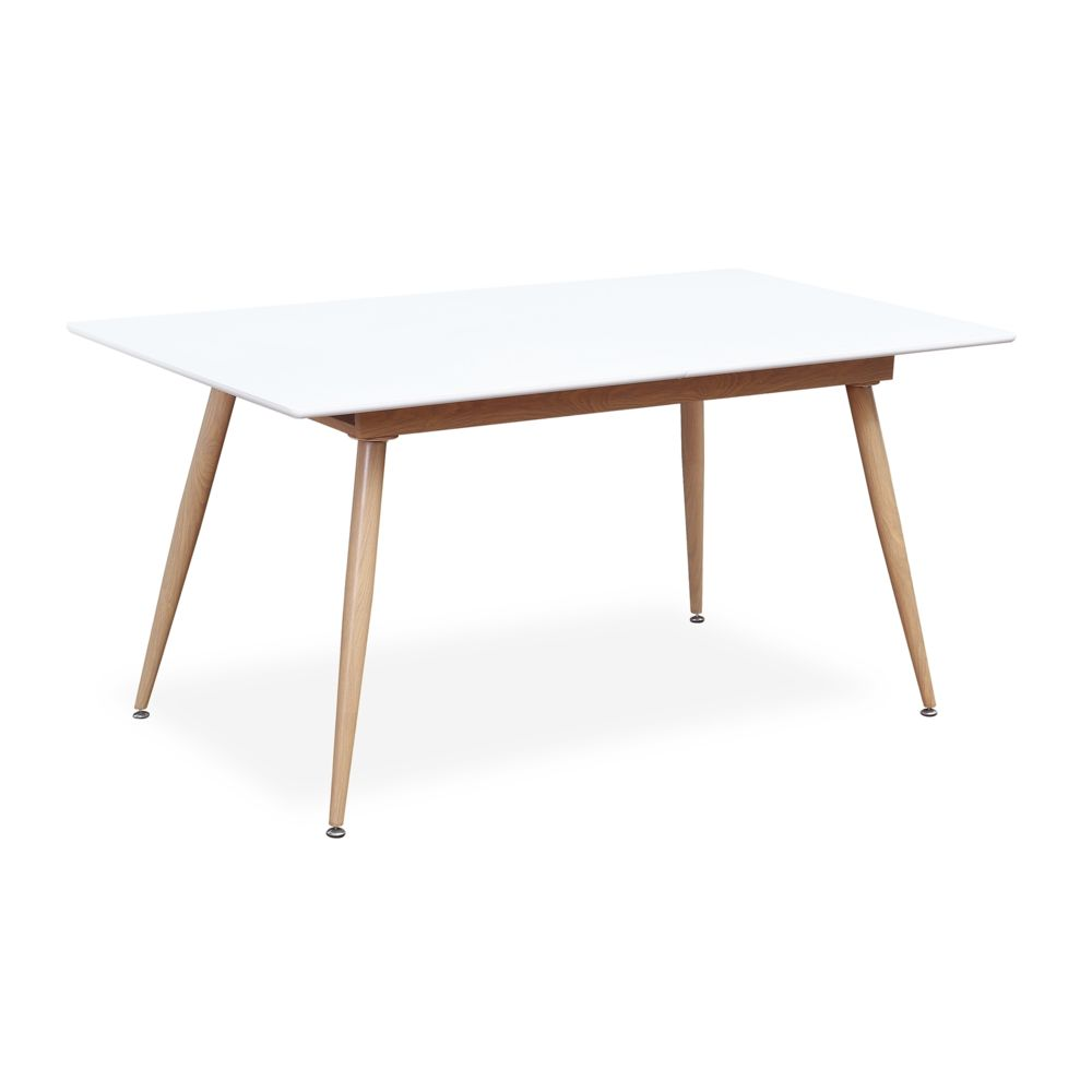 table extensible style scandinave betty