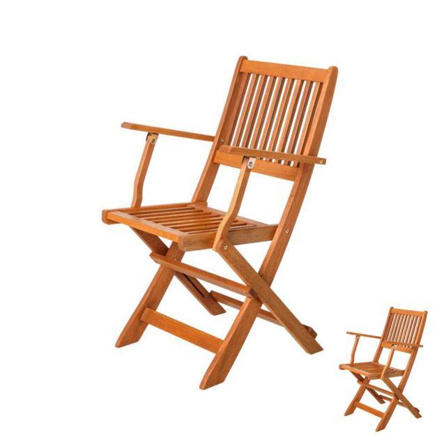 duo de chaises pliantes avec accoudoirs en bois moofushi