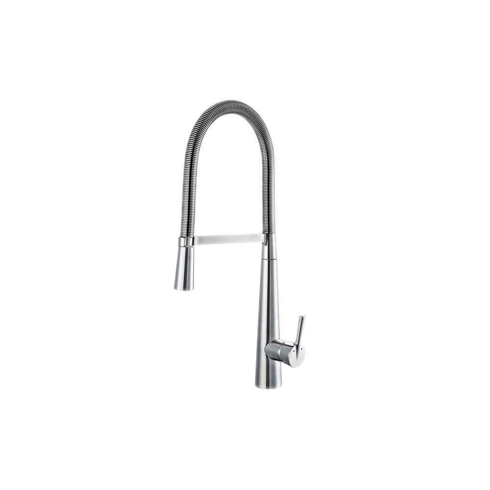 marque generique robinet mitigeur d evier cuisine bec haut mobile douchette orientable
