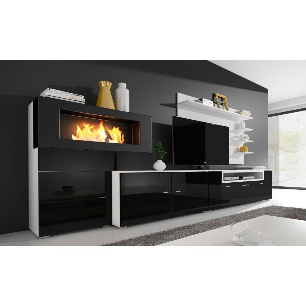 comfort ensemble meuble tv cheminee