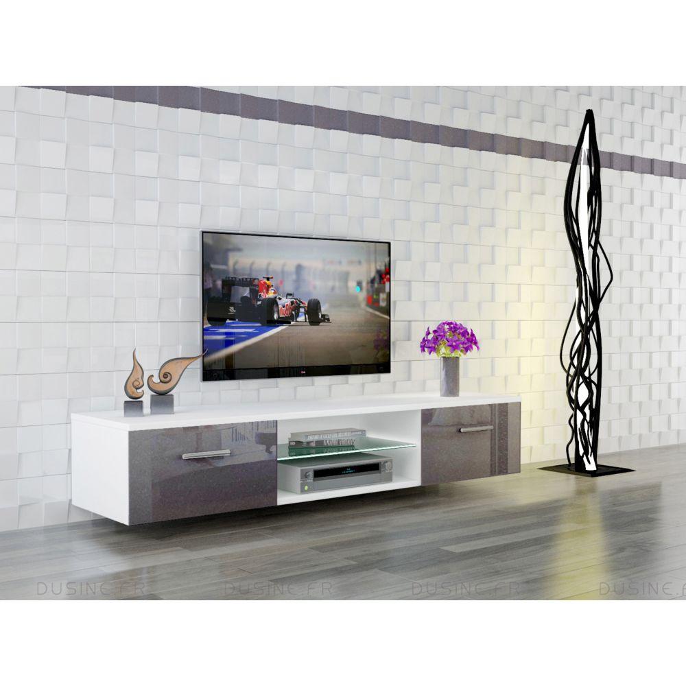 dusine meuble tv suspendu giuliano