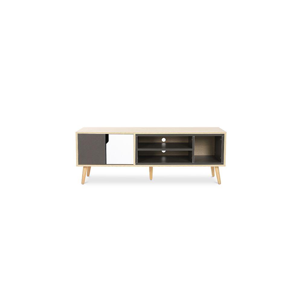 privatefloor meuble de tv buffet style scandinave bjorn bois