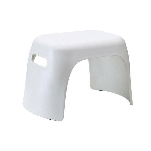 petit tabouret antiderapant de salle de bains de de menage en plastique