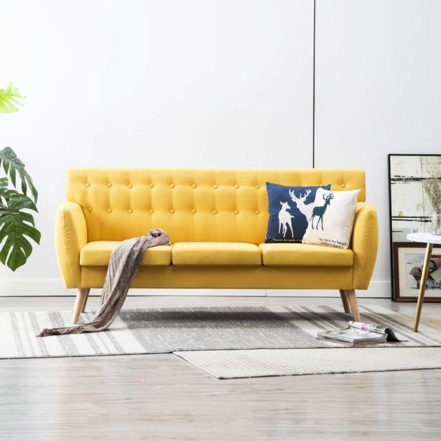 admirable meubles selection moscou canape a 3 places revetement en tissu