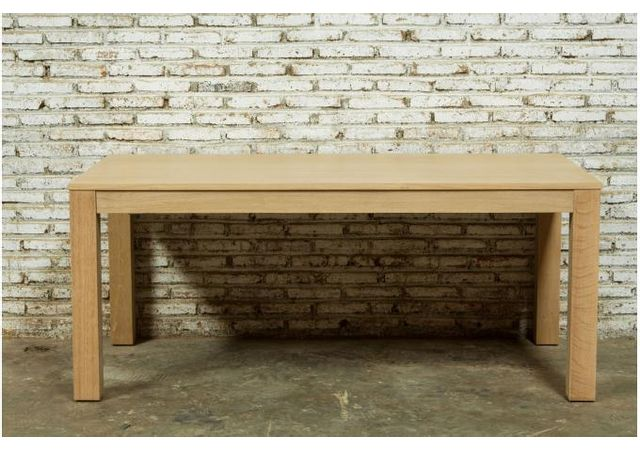 table a manger extensible chene massif 90x180 235 cochran