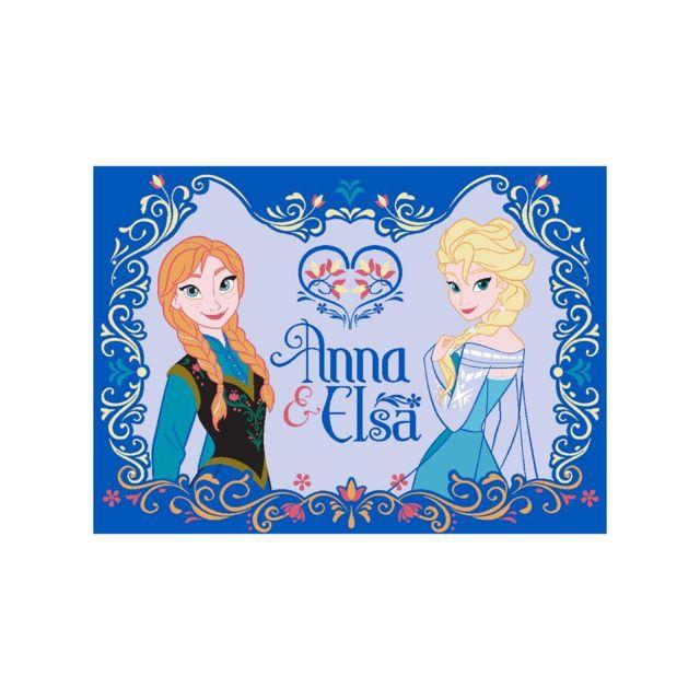 1a2t tapis enfant anna et elsa tapis polyamide de un amour de tapis