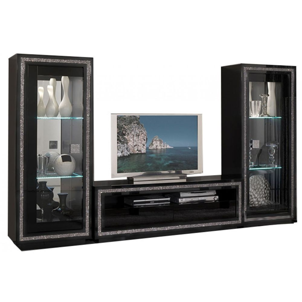 decodesign ensemble meuble tv vitrine