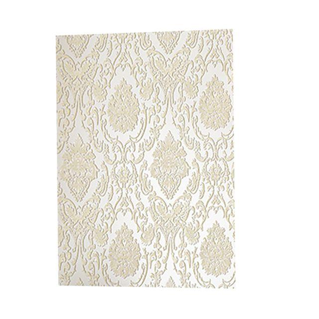 papier peint style luxe pour fond salon blanc