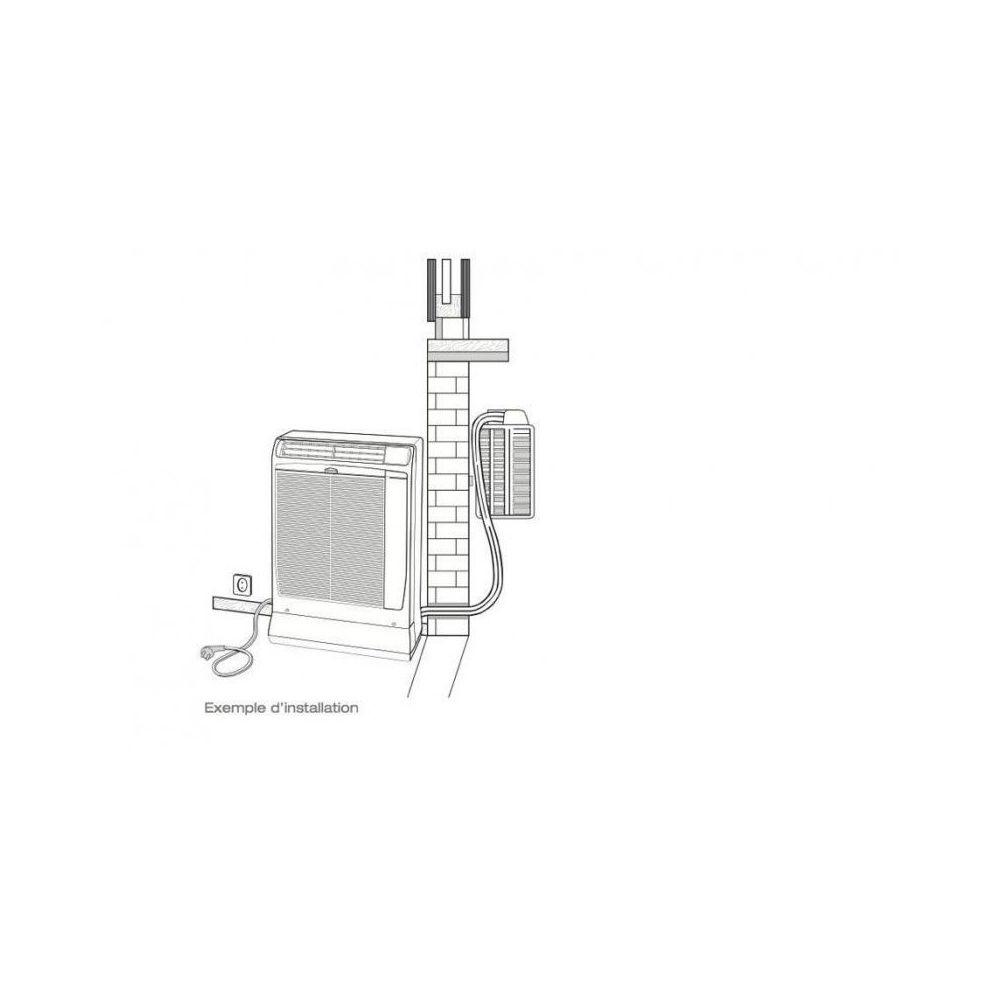 Technibel Climatisation Technibel Mobile Split 4 0kw Deconnectable Inverter Scdf134c5i Climatiseur Rue Du Commerce