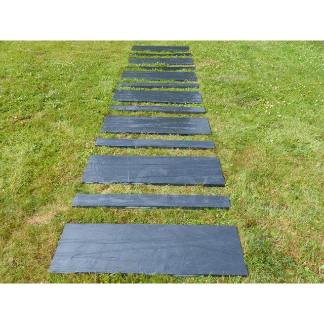classgarden dalle pas japonais rectangulaire 100x30 pack de 20 pieces