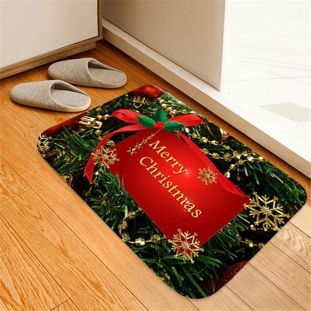 serie de noel douce antiderapants tapis de sol pour la cuisine salle de bain
