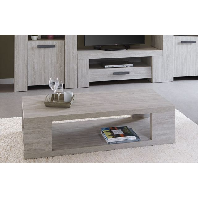 table basse couleur chene gris contemporaine coja 2