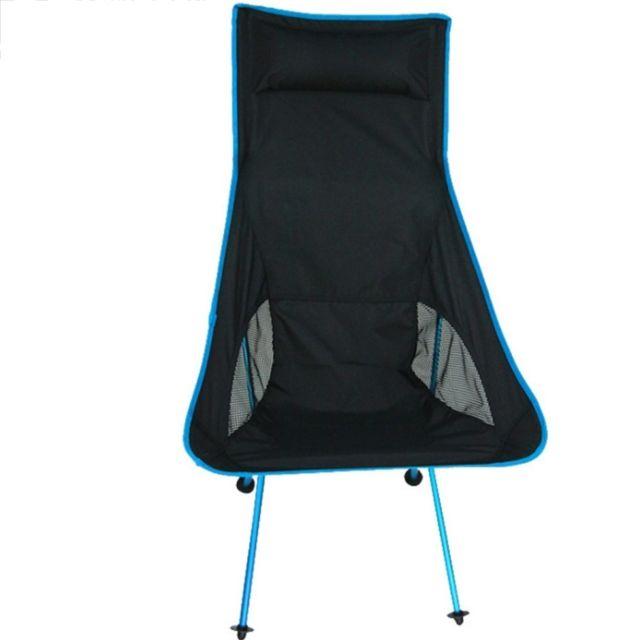chaises de plage fauteuil camping pliant portatif en plein air inclinaison