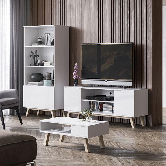 meuble tv vero bois