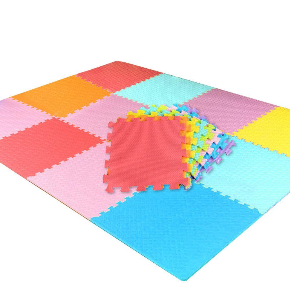 generic tapis de jeu pour enfants tapis d accise de puzzle multicolore tapis de jeu sur en mousse eva