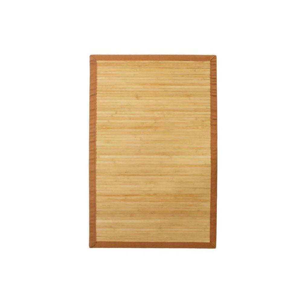 tapis bambou naturel