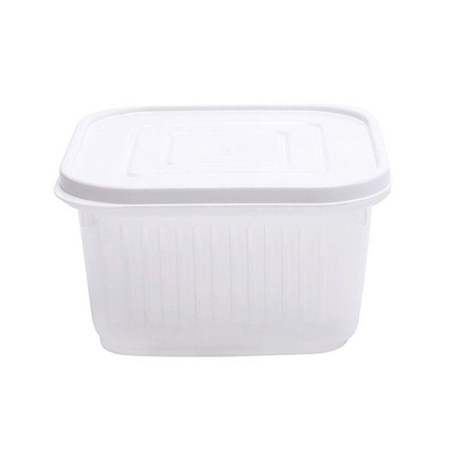 cuisine refrigerateur boite de rangement drain de fruits et legumes avec