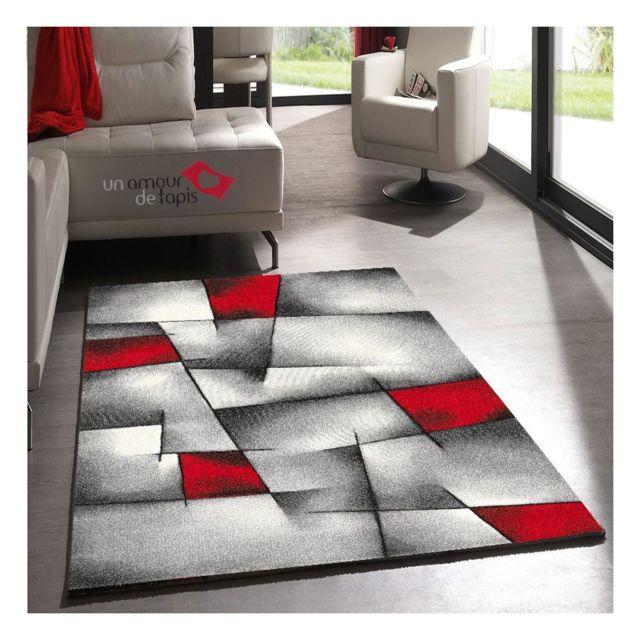 1a2t tapis moderne brillance 660 910 tapis polypropylene frisee de un amour