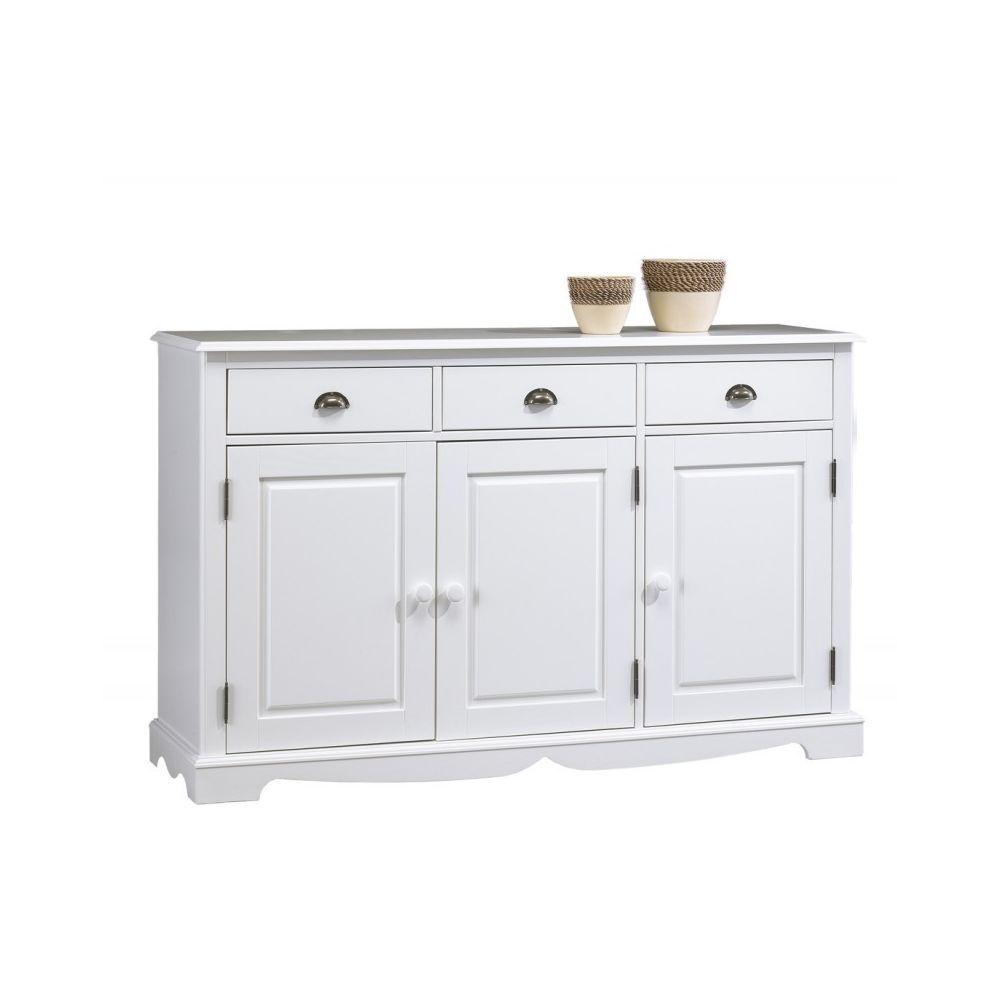 buffet meuble blanc