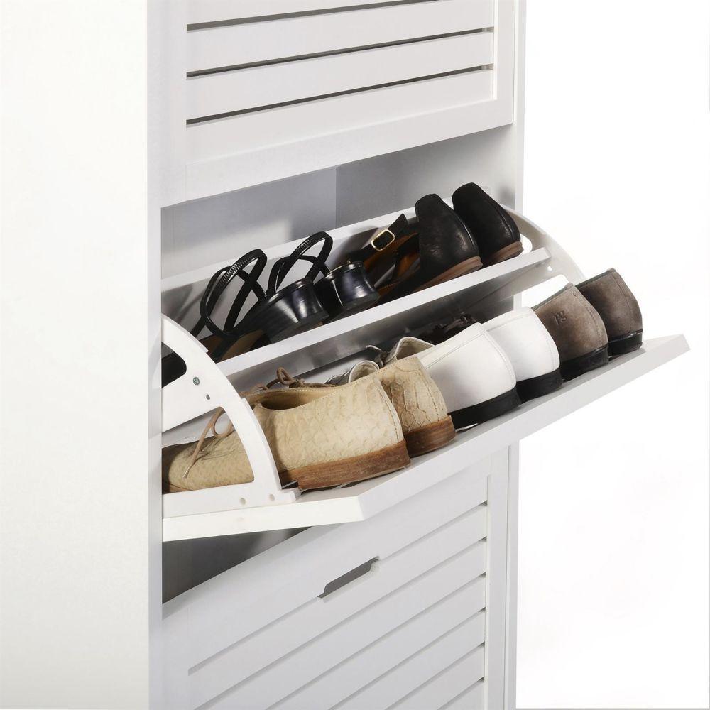 chaussures en colonne adria armoire