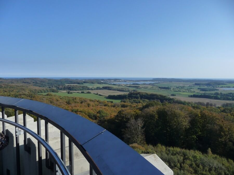 Aussicht vom Jagdschloss Granitz