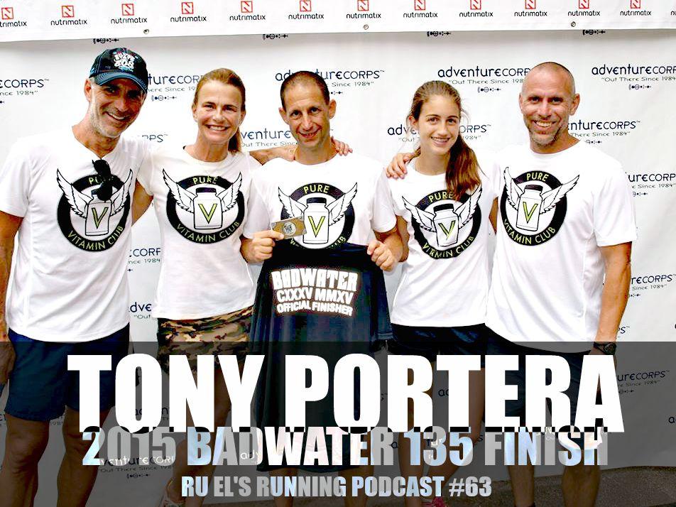Ru El's Running #63 Tony Portera Badwater 135 2015
