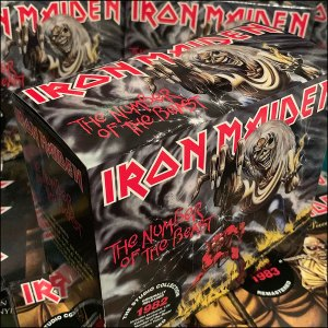 Iron Maiden The Studio Collection
