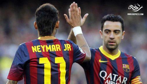 تشافي يكشف سبب رحيل نيمار عن برشلونة